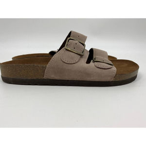 White Mountain Footbeds Helga Leather Sandals